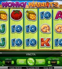 Wonky Wabbits slot machine