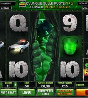 L'Incredibile Hulk slotmachine