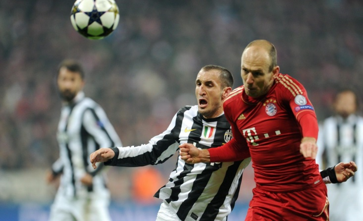 Chiellini vs Robben