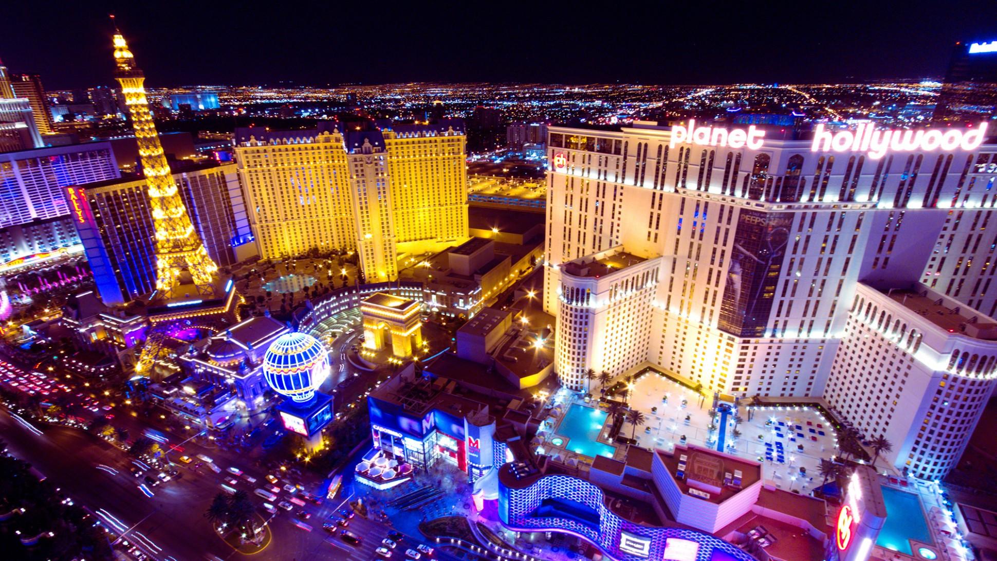Las Vegas aerea