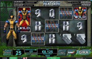 Wolverine slot gratis recensione