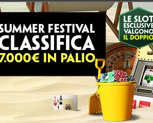 Paddy Power Casino Classifica Summer Festival 7.000€