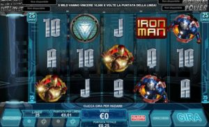 Iron Man 3 slot online: recensione