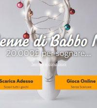 32Red Casino bonus Babbo Natale
