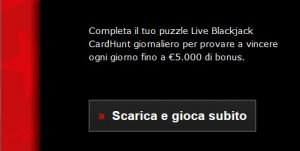 Live Blackjack CardHunt PokerStars Casino