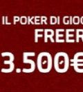 Freeroll Natale 3.500€ GD Poker